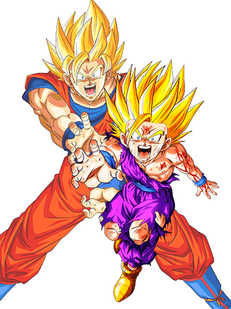 Kamehameha Father And Son By AlexelZ