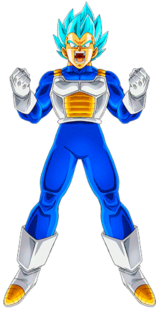 Vegeta Super Saiyan Blue 6 by AlexelZ