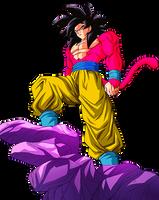 Goku SS4 by AlexelZ