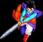 Mystic Gohan Z Sword
