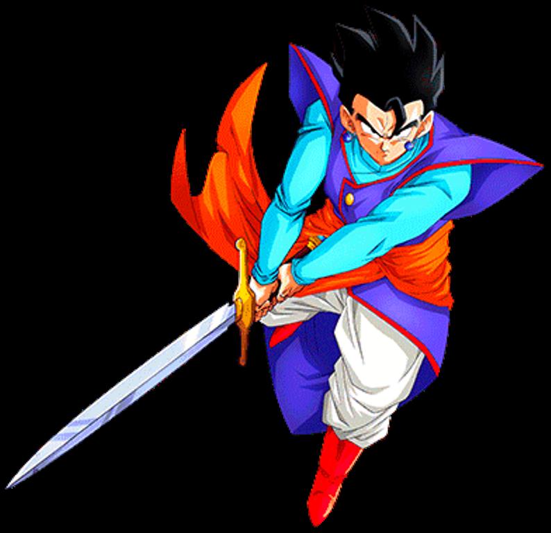 Mystic Gohan Z Sword by alexiscabo1