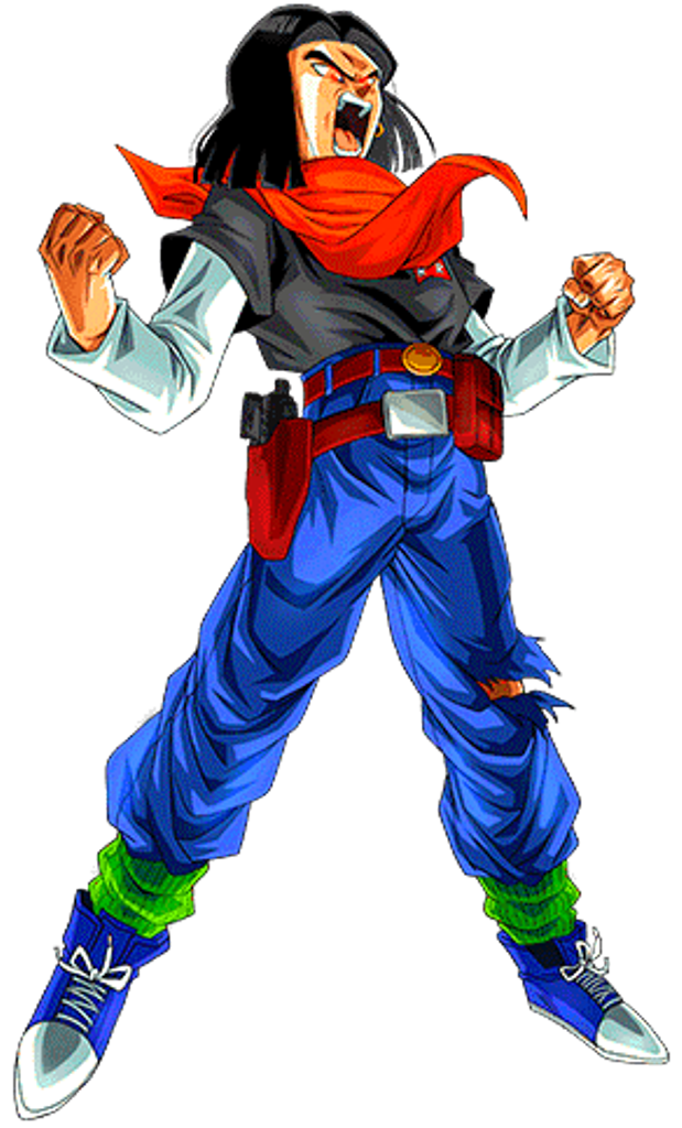 Dbz Android 17 Gt Orange Related Keywords Dbz Android 17