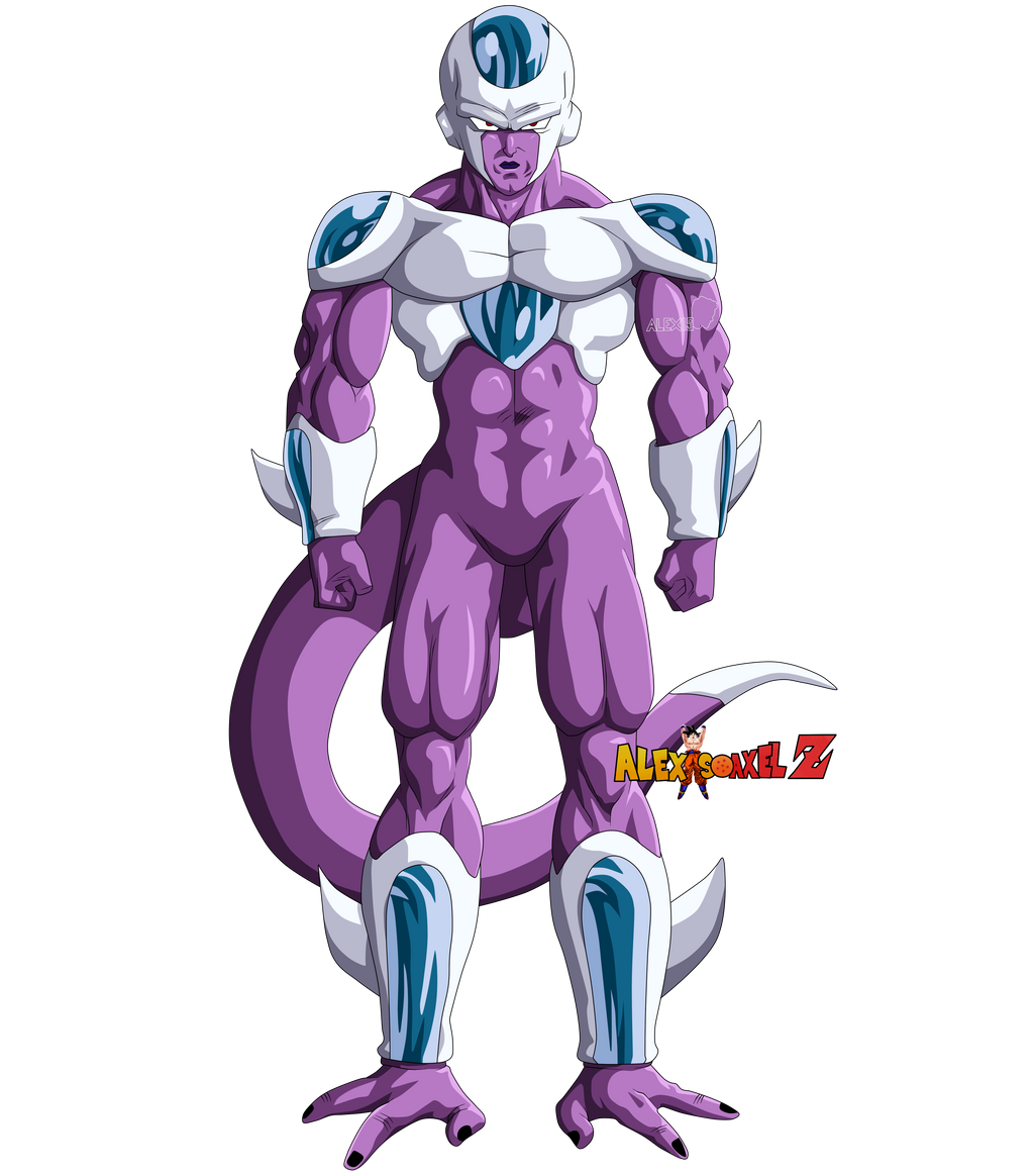 King Cold Fourth Form by AlexelZ on DeviantArt