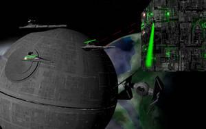 Borg vs The Empire by FooDogTenchi