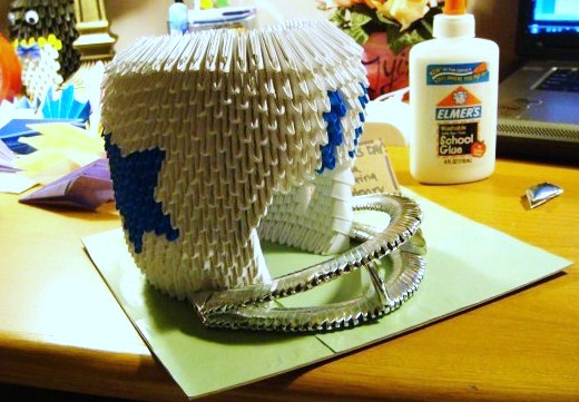 3d origami football helmet by sabrinayen on deviantart