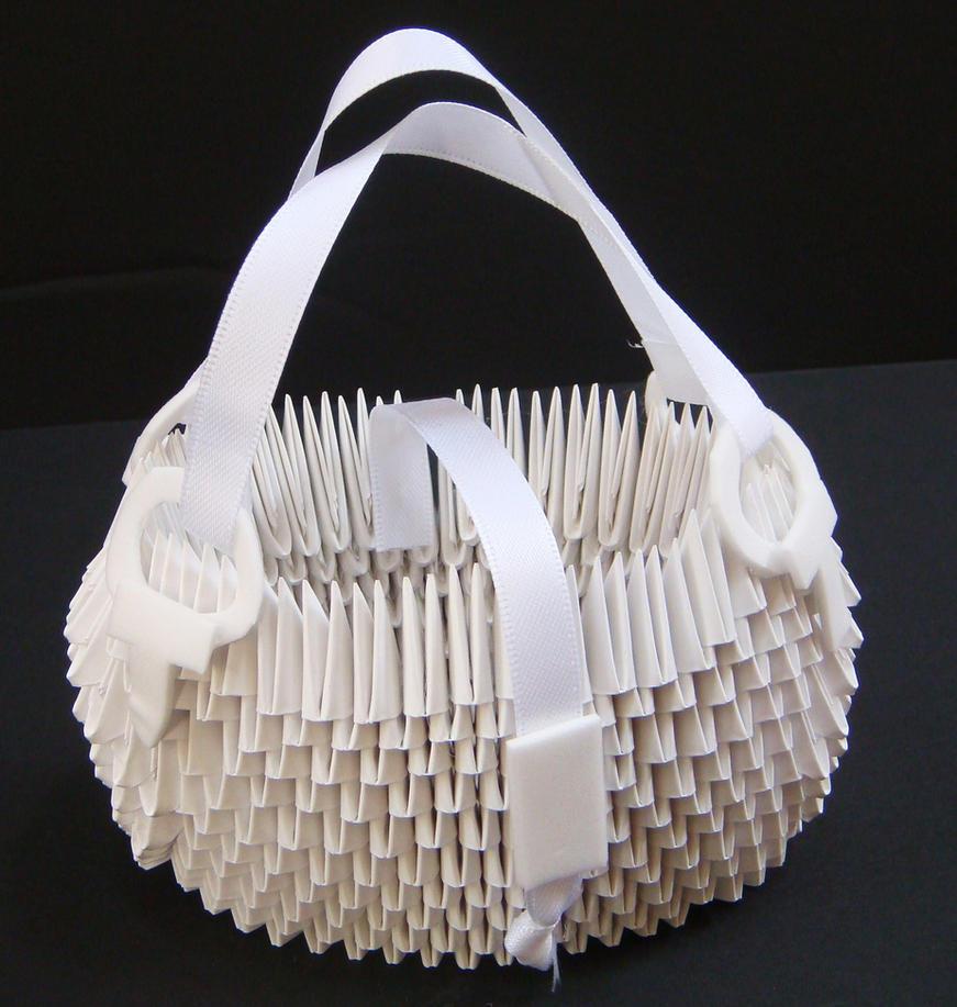 3d Origami Purse By Sabrinayen On Deviantart