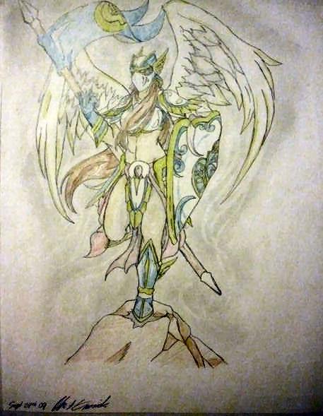 Female Guardian Angel by Hence-Ferula on DeviantArt