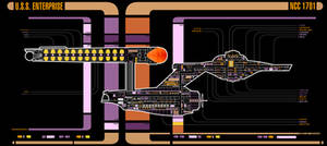 USS Enterprise NCC 1701 - MDS