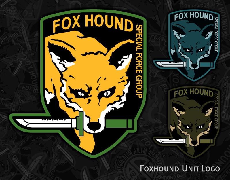 Foxhound Logo By Azeem786