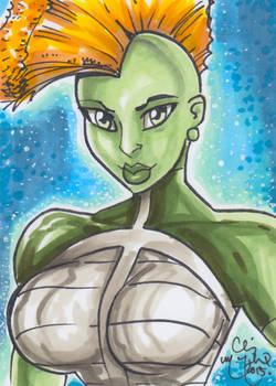 Savage She-Dragon by Chris McJunkin