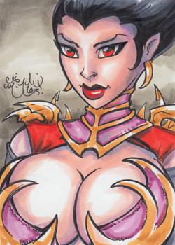 Vampire Goddess by Chris McJunkin