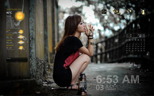 Rainmeter - Lost in thought V2 by Athox