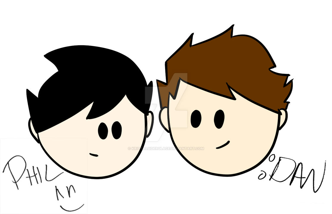 Dan and Phil by KristalSiderglace