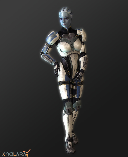 XNALara Liara T'soni Alt Armor Model by ObscureMemories