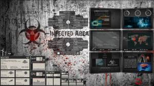 Rainmeter Dreamscene Zombie's Infected Area