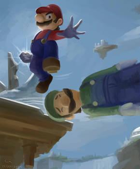 Mario and Luigi - Super Smash Bros. Ultimate