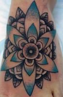 flower by tattooKame