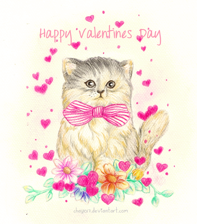 Valentine Kitty by HelloPusa