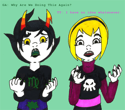 Kanaya and Rose: Be Incredibly Silly by Whimsical-Realist