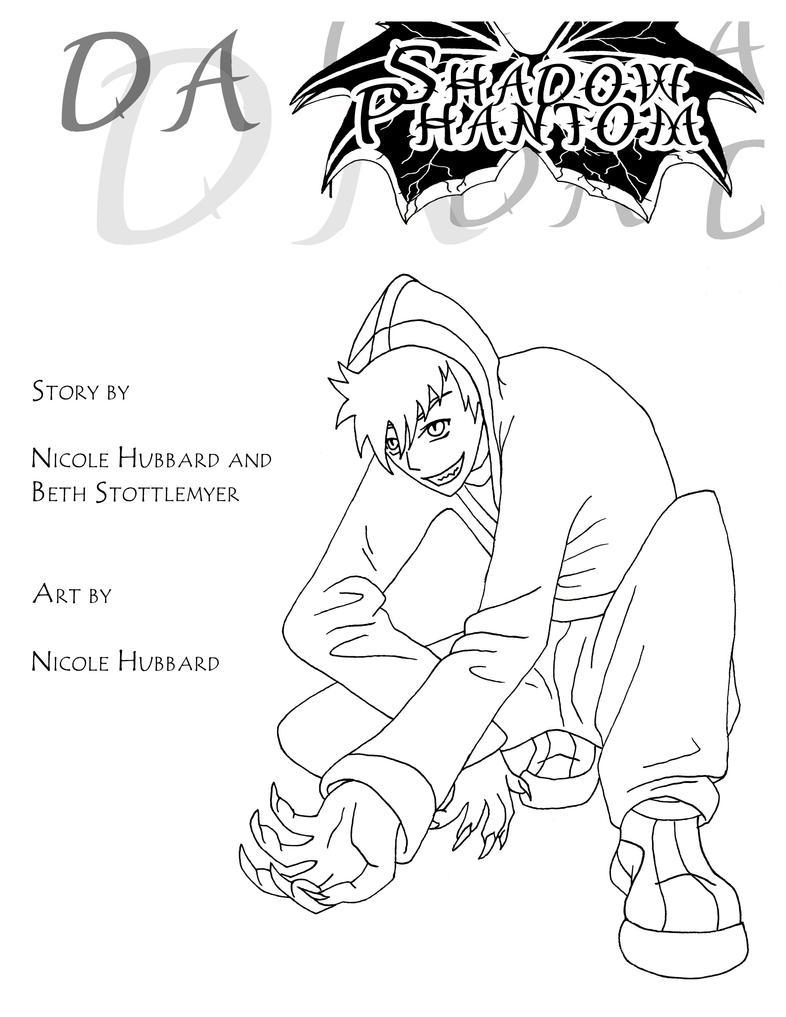 DA Shadow Phantom Graphic Novel by nykol-haebrd