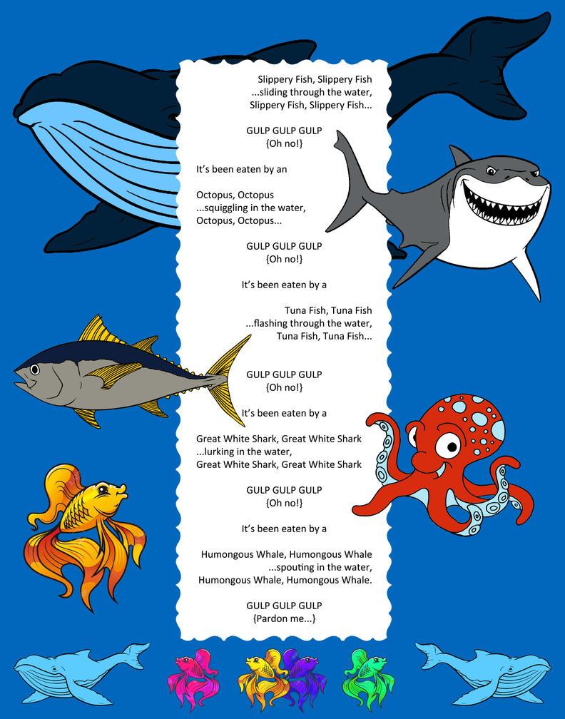 Slippery Fish Song by nykol-haebrd