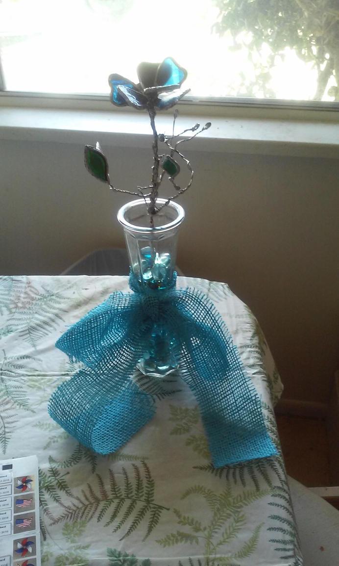Glass Rose by nykol-haebrd