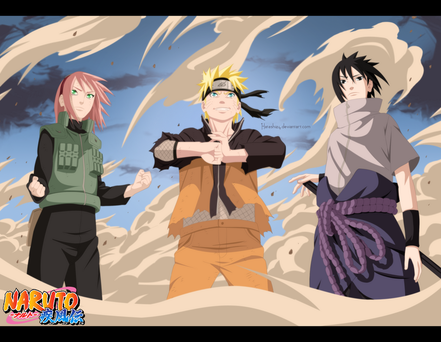 Naruto 632 team 7 is back by hatashi24 on deviantart for Team 7 ohrensessel