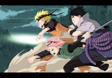 Naruto Team 7 : Ready ! by HataShi24