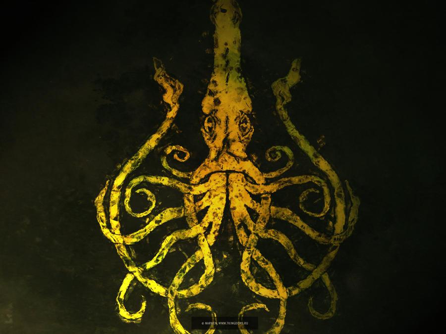 Greyjoy kraken by 7Narwen