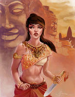Cambodian Princess by Sopeh