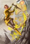 Yellow Power Rangers Samurai