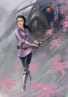Pink Power Rangers Samurai Art by Sopeh