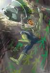 Green Power Rangers Samurai