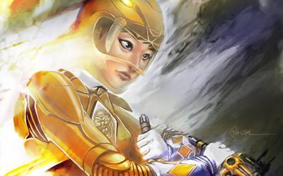 Trini Yellow Power Ranger by Sopeh