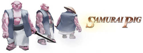 Samurai Pig by Sopeh
