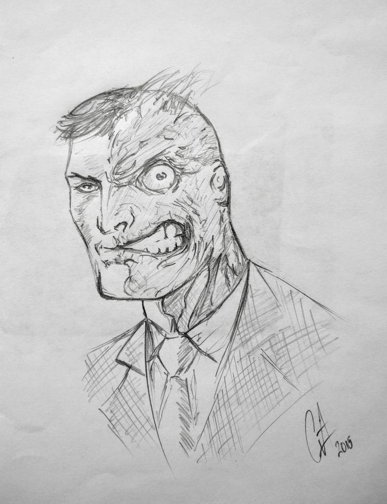 Two Face by GordonJuws