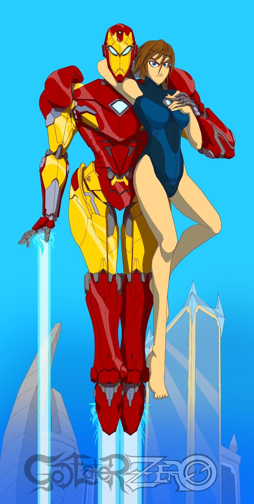 Tyrranux Universe Iron Man by Tyrranux