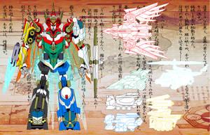 Knight Megazord by Tyrranux