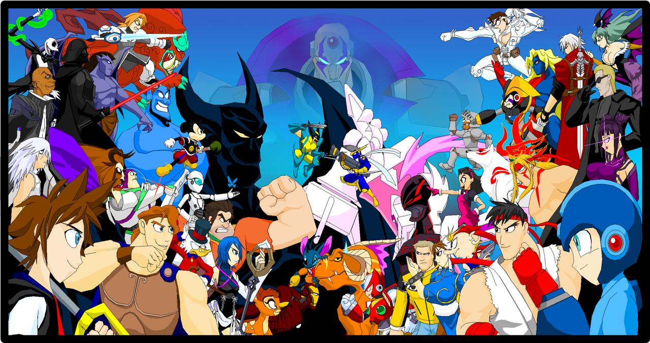 Disney VS Capcom by Tyrranux