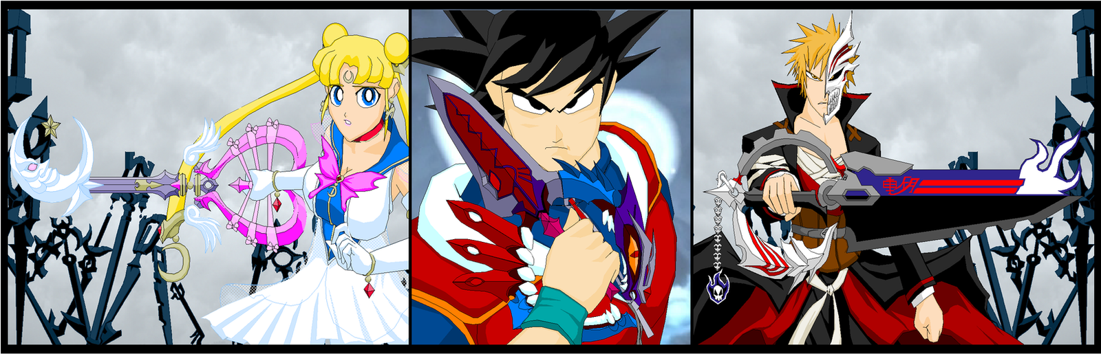 Keyblade Heroes by Tyrranux