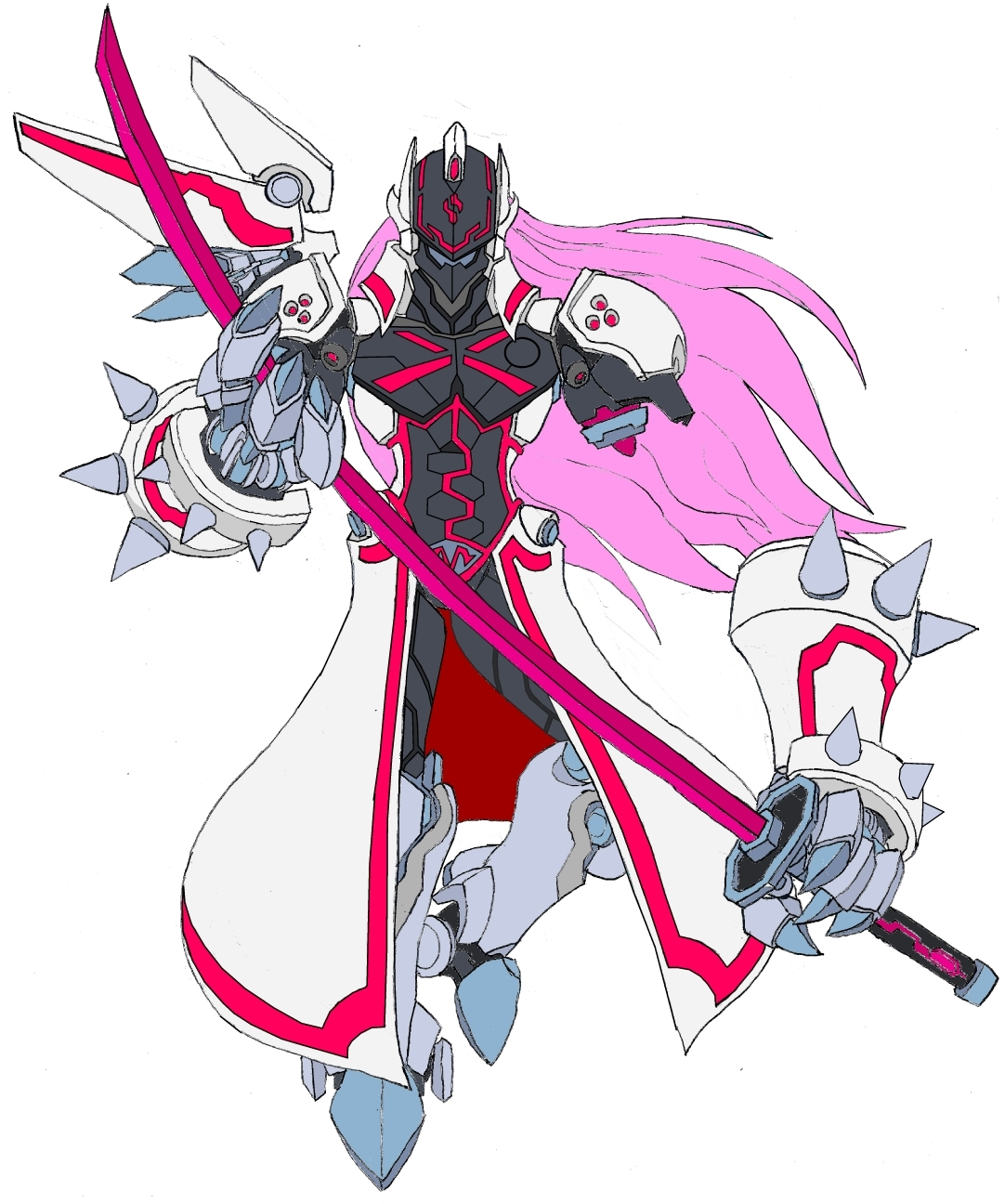 Omega Zero Sephiroth by Tyrranux on DeviantArt