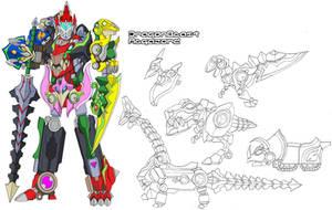 DragonBeast Megazord by Tyrranux
