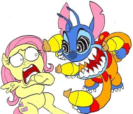 Stitch has a Glitch by Tyrranux