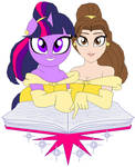Belle and Twilight Sparkle