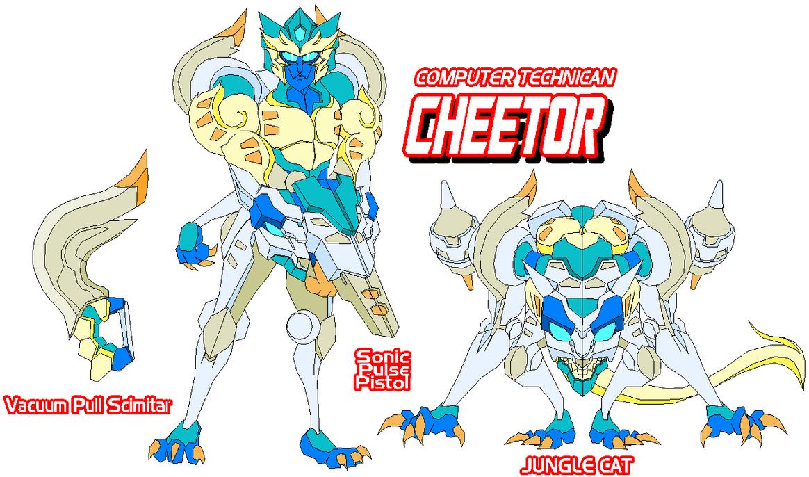 Autobot Cheetor by Tyrranux