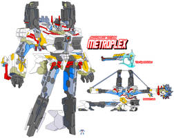 Autobot Metroplex by Tyrranux