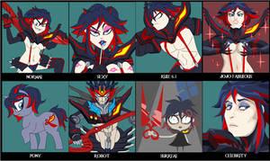 Terry's Character Meme - Ryuko