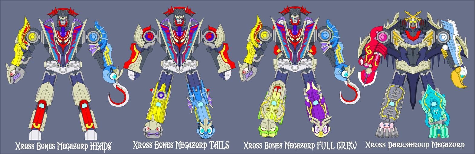 Xross Bones Megazord by Tyrranux on DeviantArt