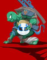 Ninja Turtle Leonardo by Tyrranux