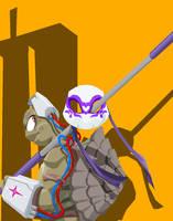 Ninja Turtle Donatello by Tyrranux